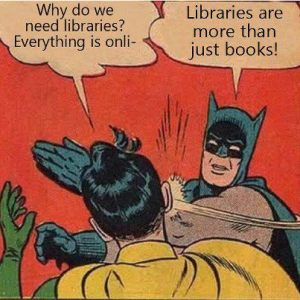 Holy libraries, Batman!