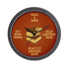 avid_reader_antique_wall_clock