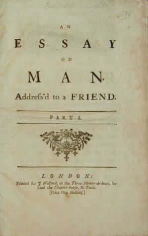 Essay on man the coffee philosopher