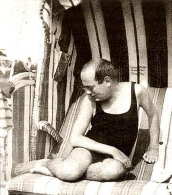 Theodor Adorno at the Beach