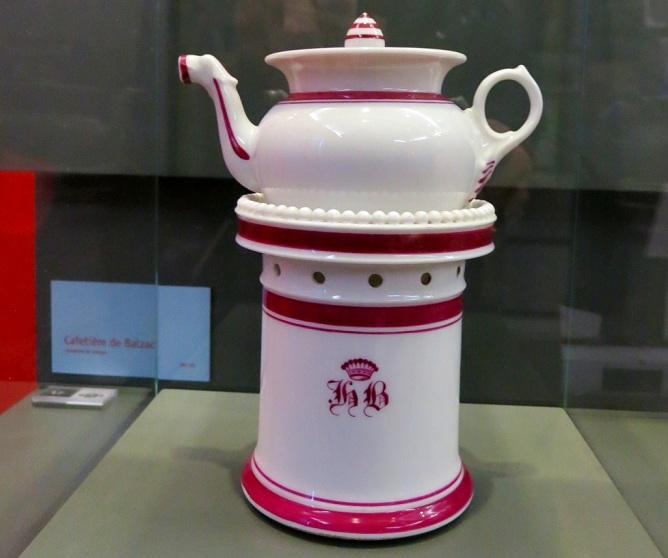 Balzac's coffee pot