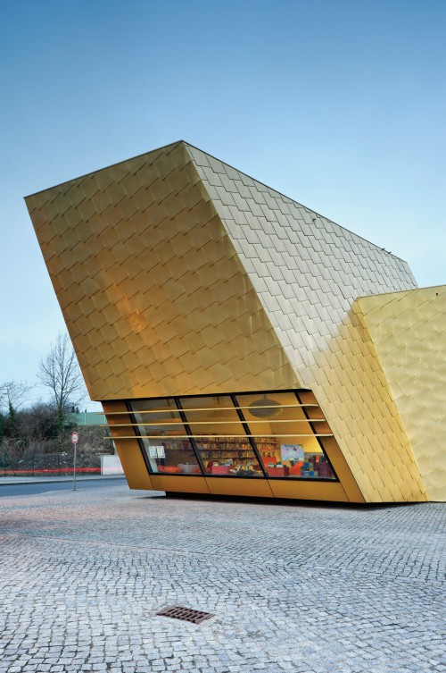 LuckenwaldeLibrary, Luckenwalde, Germany