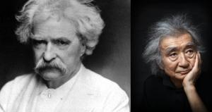 Ozawa and Twain... weirdly similar hair