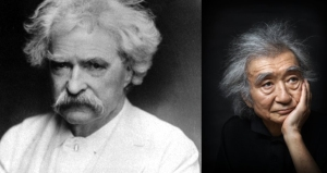 Ozawa and Twain... weirdly similar hair