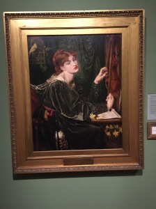 Another very Rossetti-like Rossetti... they did love red-haired women