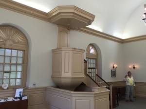 The classic colonial pulpit
